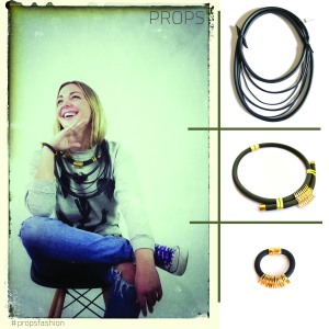 neoprene black jewelry